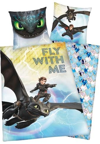 Kinderbettwäsche »Dragons«, kaufen
