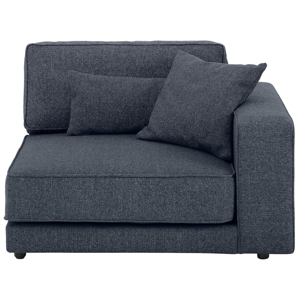 OTTO products Sofa-Eckelement »Grenette«, als Teil des Modulsofas, im Baumwoll-/Leinenmix oder umweltschoned aus 70% recyceltem Polyester