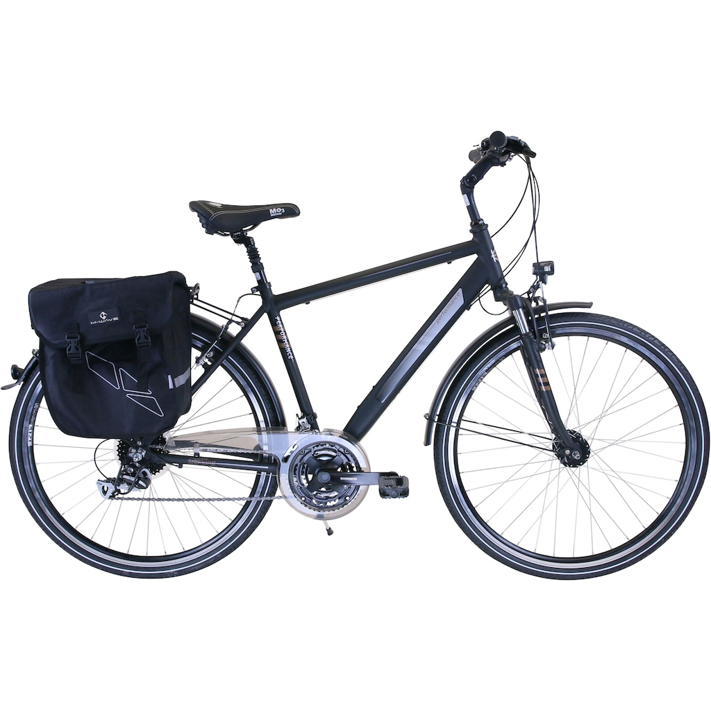 Performance Trekkingrad, 24 Gang, Shimano, ACERA RDM360 Schaltwerk, Kettenschaltung