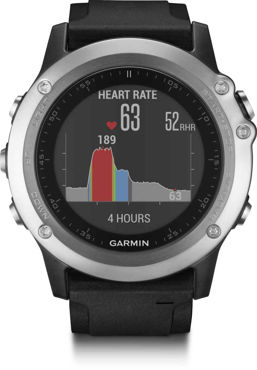 Garmin GPS-Multisportuhr »fenix 3 HR«   Uhren > Sonstige Armbanduhren   Schwarz   Li   GARMIN