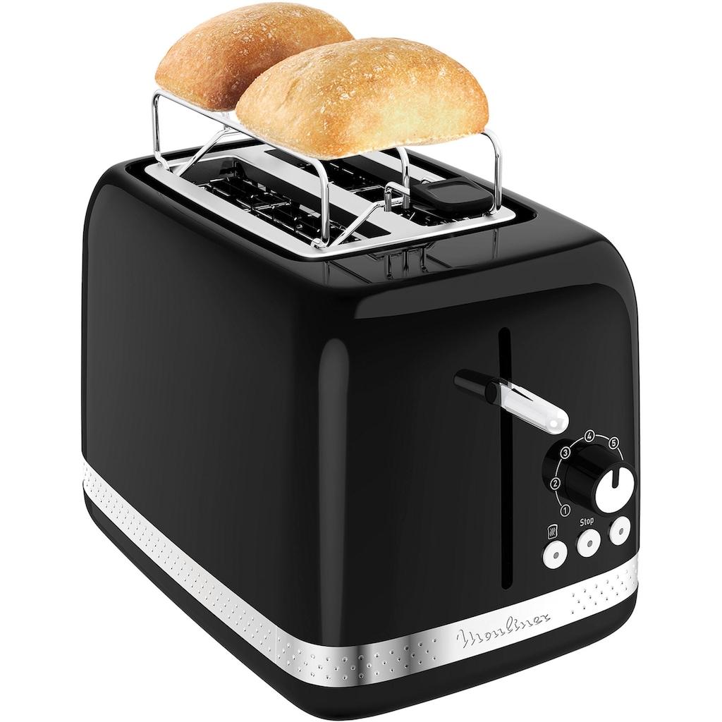 Moulinex Toaster »LT3018 Soleil«, 2 kurze Schlitze, 850 W