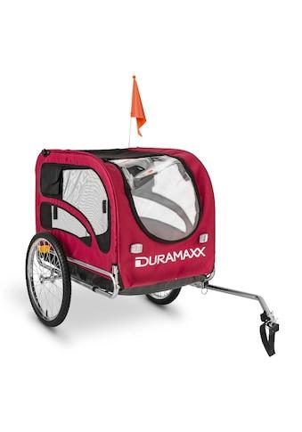 Duramaxx Fahrradanhänger Hundeanhänger 250l 40kg Stahlrohr kaufen