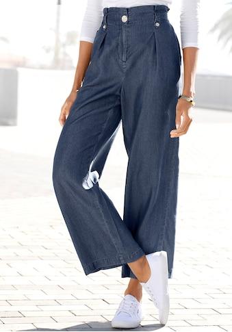 LASCANA Paperbag-Hose, aus Lyocell kaufen