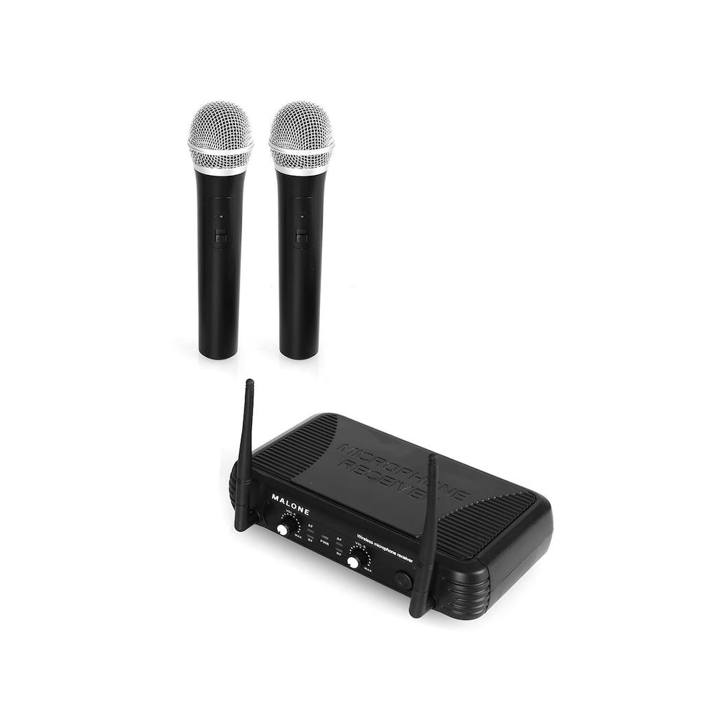 Malone UHF Funkmikrofon Set 2 Kanal »UHF 250 Duo1«