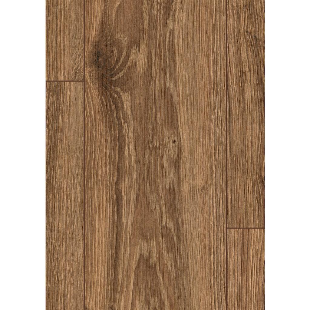 EGGER Laminat »EHL127 Kaluga Eiche mocca«, mit Klick-Verbindung, 1291 x 193, Stärke: 12mm