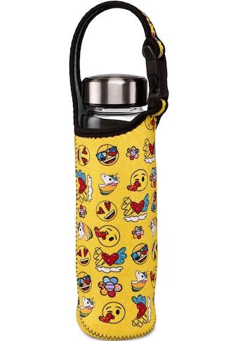 """Goebel Trinkflasche »emoji® by BRITTO® - """"Summer Feelings""""«, (mit Haltegurt),... kaufen"""