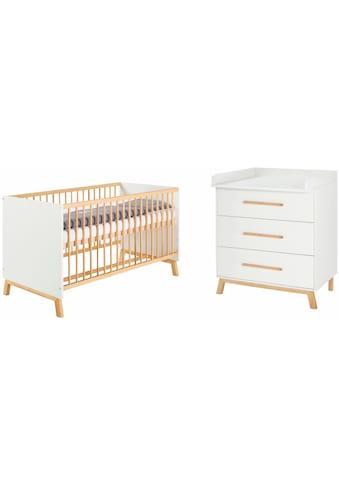 Schardt Babymöbel-Set »Sienna White«, (Spar-Set, 2 St.), mit Kinderbett und... kaufen