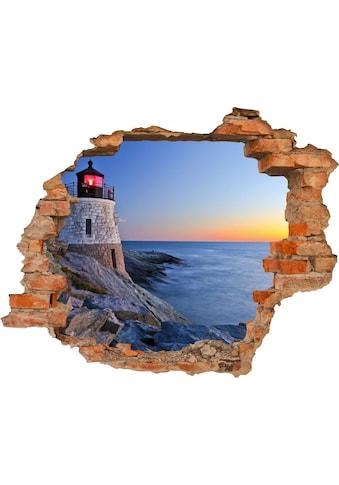 Conni Oberkircher´s Wandsticker »Lighthouse«, selbstklebend kaufen