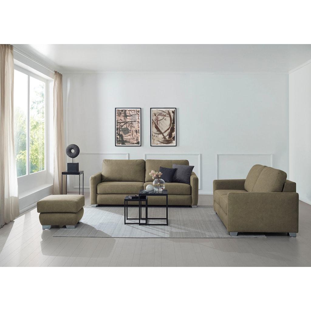 CALIZZA INTERIORS Schlafsofa »Opal«, mit Bettfunktion, Breite 175 cm