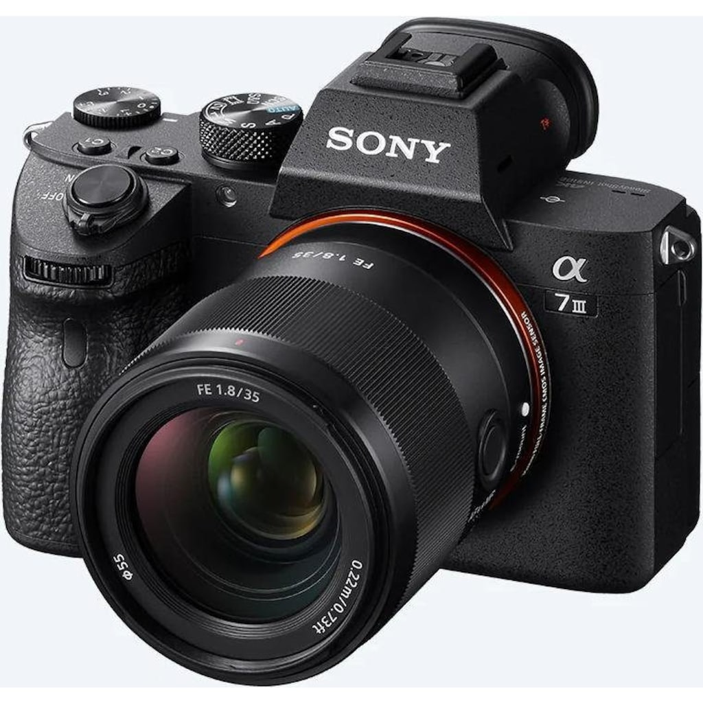 Sony Festbrennweiteobjektiv »SEL35F18F«