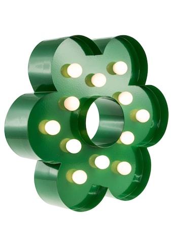 MARQUEE LIGHTS LED Dekolicht »Blume«, 1 St., Warmweiß, Wandlampe, Tischlampe Flower mit 12 festverbauten LEDs - 23cm Breit und 23cm hoch kaufen