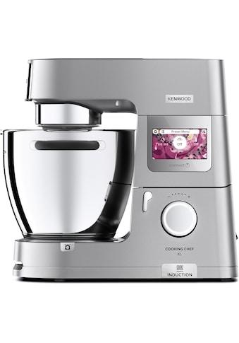 KENWOOD Küchenmaschine mit Kochfunktion Cooking Chef XL KCL95.424SI, 1500 Watt, Schüssel 6,7 Liter kaufen
