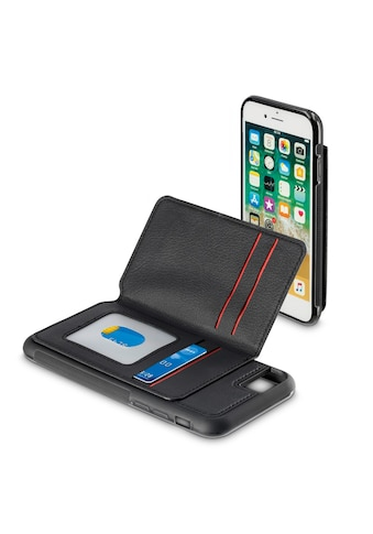 Hama Cover,Tasche für Apple iPhone 6/6s/7/8 Red Sensation No.5 »Smartphone Hülle Schwarz/Rot« kaufen