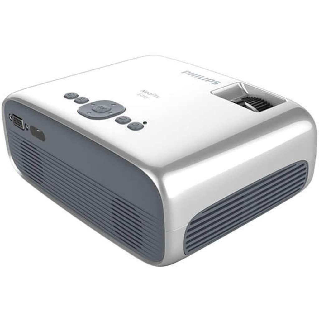 Philips Mini-Beamer »NeoPix Easy«, (3000:1)