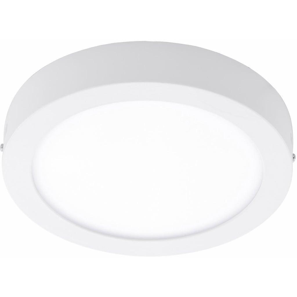 EGLO LED Deckenleuchte »FUEVA 1«, LED-Board, Warmweiß, LED Deckenlampe