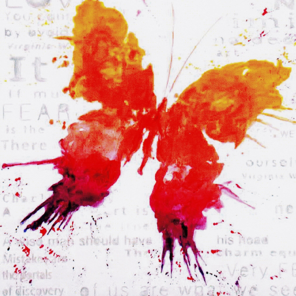 my home Gemälde »Papillon«, (70/3,5/70 cm)