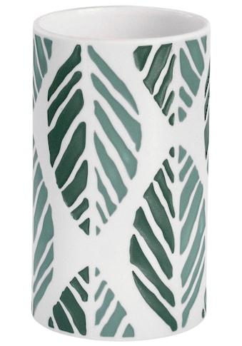 Kleine Wolke Zahnputzbecher »Leaf«, Accessoire Serie mit geprägtem Blatt Design kaufen