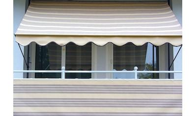 Angerer Freizeitmöbel Klemmmarkise, beige-braun, Ausfall: 150 cm, versch. Breiten kaufen