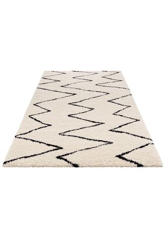 Hochflor - Teppich, »Jara«, MINT RUGS, rechteckig, Höhe 35 mm, maschinell gewebt kaufen