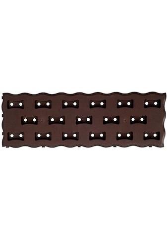 PROSPERPLAST Beetplatte »Pad R222«, LxBxH: 60x20x2,5 cm, dunkelbraun kaufen