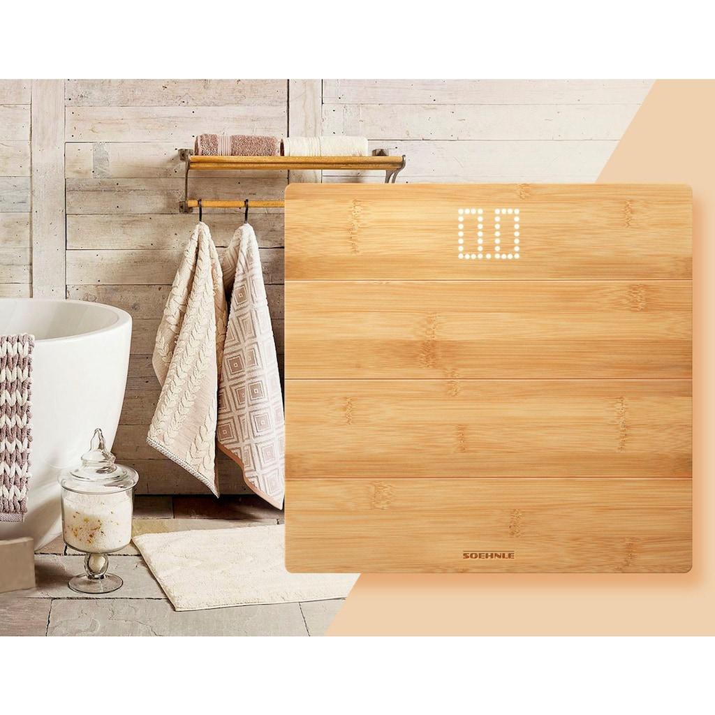 Soehnle Personenwaage »Style Sense Bamboo Magic«