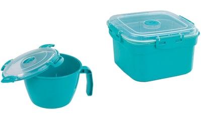 WENKO Mikrowellenbehälter, (Set, 2 tlg.) kaufen