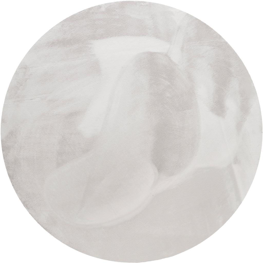 Wecon home Basics Hochflor-Teppich »Anna«, rund, 25 mm Höhe