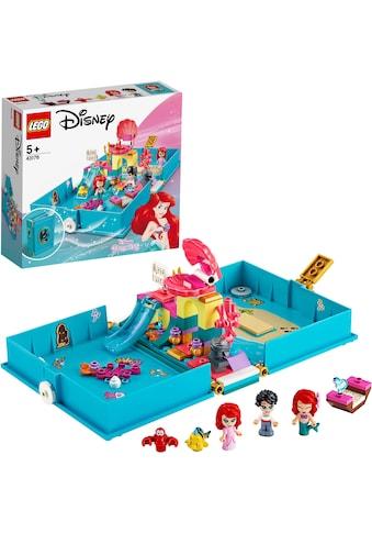 LEGO® Konstruktionsspielsteine »Arielles Märchenbuch (43176), LEGO® Disney Princess™«, (105 St.) kaufen