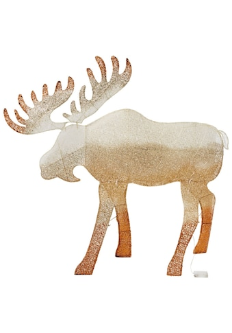 LED Dekofigur »Elch Kjell«, Warmweiß, Höhe ca. 120 cm, mit 50 warmweißen LEDs kaufen