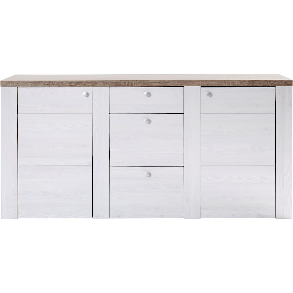 TRENDMANUFAKTUR Sideboard »Larona«, Breite 176 cm