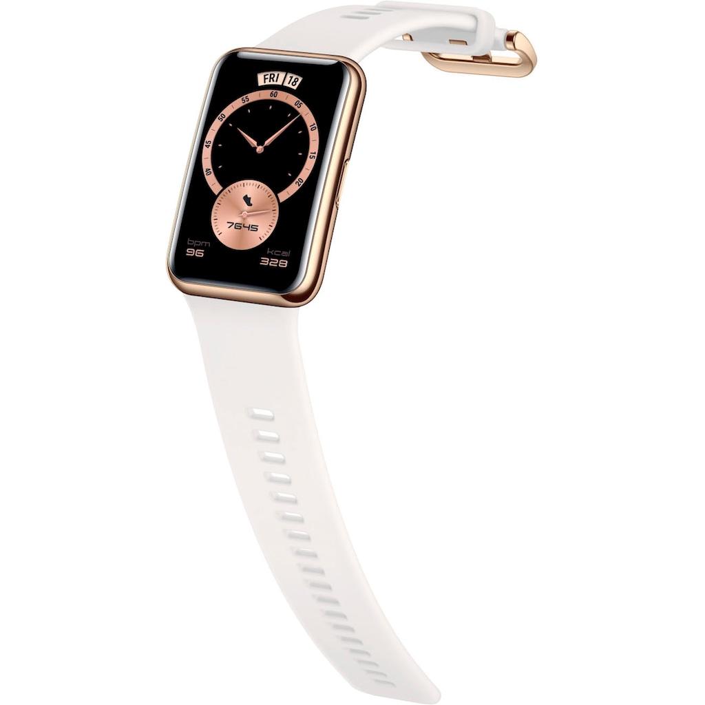 Huawei Smartwatch »WATCH FIT Elegant Edition«, (Proprietär 24 Monate Herstellergarantie)