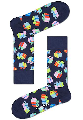 Happy Socks Socken, mit bunten Geburtstags Motiven kaufen