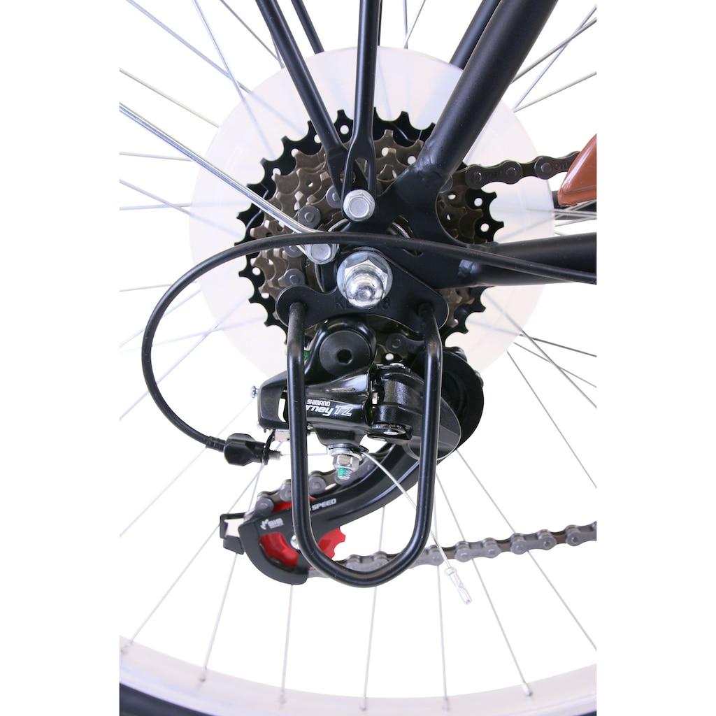 Performance Trekkingrad, 6 Gang, Shimano, TOURNEY TZ 500 Schaltwerk, Kettenschaltung