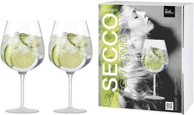 Eisch Weinglas »Secco Flavoured«, (Set, 2 tlg.), (Gin Tonic Glas), bleifreies Kristallglas, 735 ml kaufen
