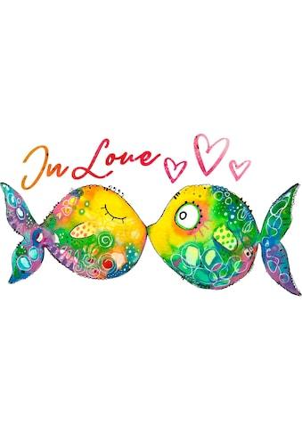 Wandtattoo »Verliebte Fische« kaufen