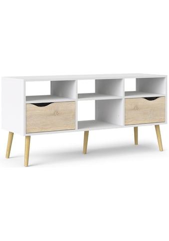 Home affaire TV-Board »OSLO«, mit vielen Stauraummöglichkeiten, im Retro Design,... kaufen