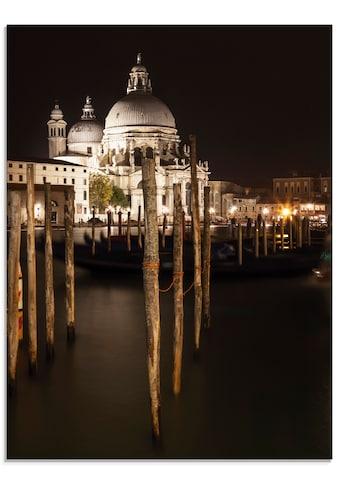 Artland Glasbild »Canal Grande Santa Maria della Salute«, Italien, (1 St.) kaufen