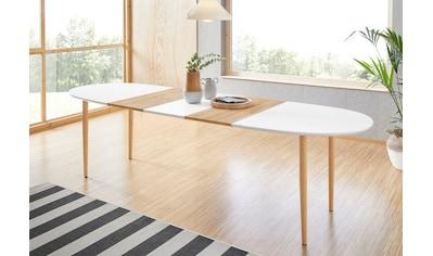 INOSIGN Esstisch »Oskar«, zum Ausziehen (160-280 cm) kaufen