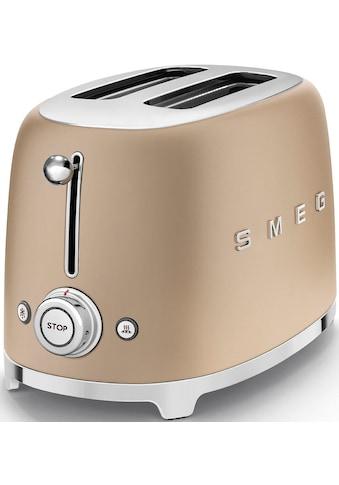 Smeg Toaster »TSF01CHMEU«, 2 kurze Schlitze, 950 W kaufen