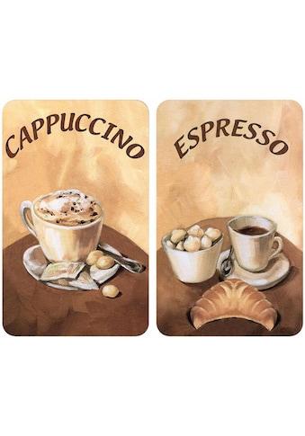 WENKO Herd-Abdeckplatte »Kaffee«, kratzfest kaufen