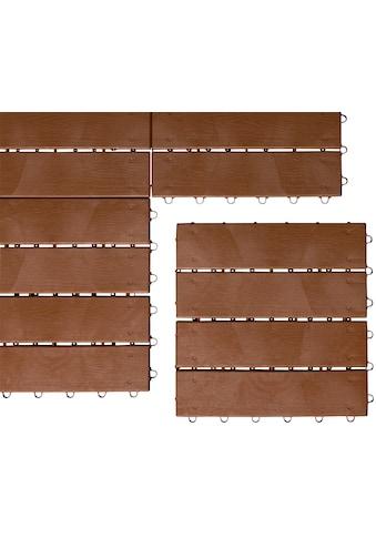 UPP Klick - Fliese »Optik Holzdiele«, 6 Stück á 30x30cm kaufen