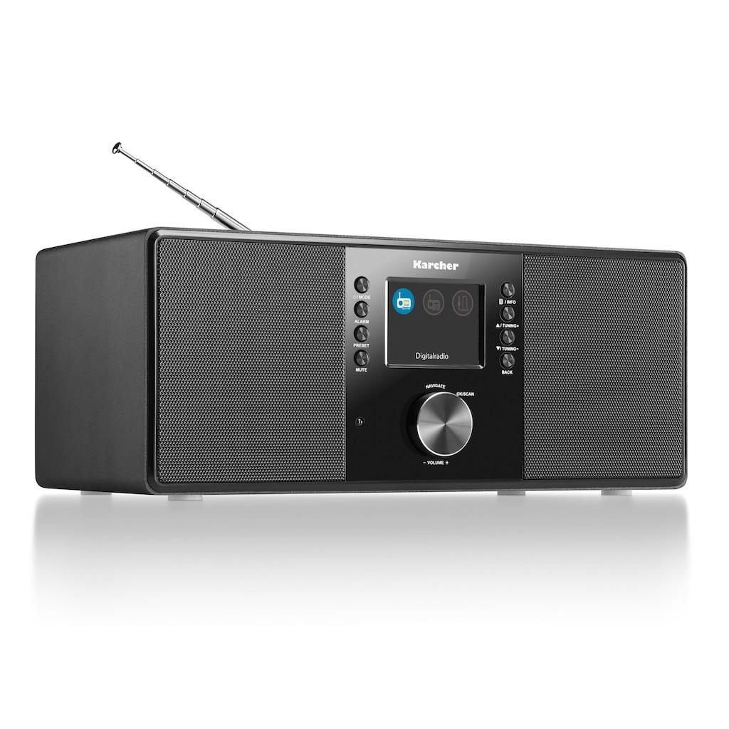 Karcher Digitalradio (DAB+) »DAB 5000«, (Digitalradio (DAB+)-FM-Tuner)
