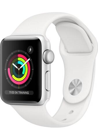 Apple Watch »Series 3 GPS, Aluminiumgehäuse mit Sportarmband 38mm«, (Watch OS 5 inkl.... kaufen