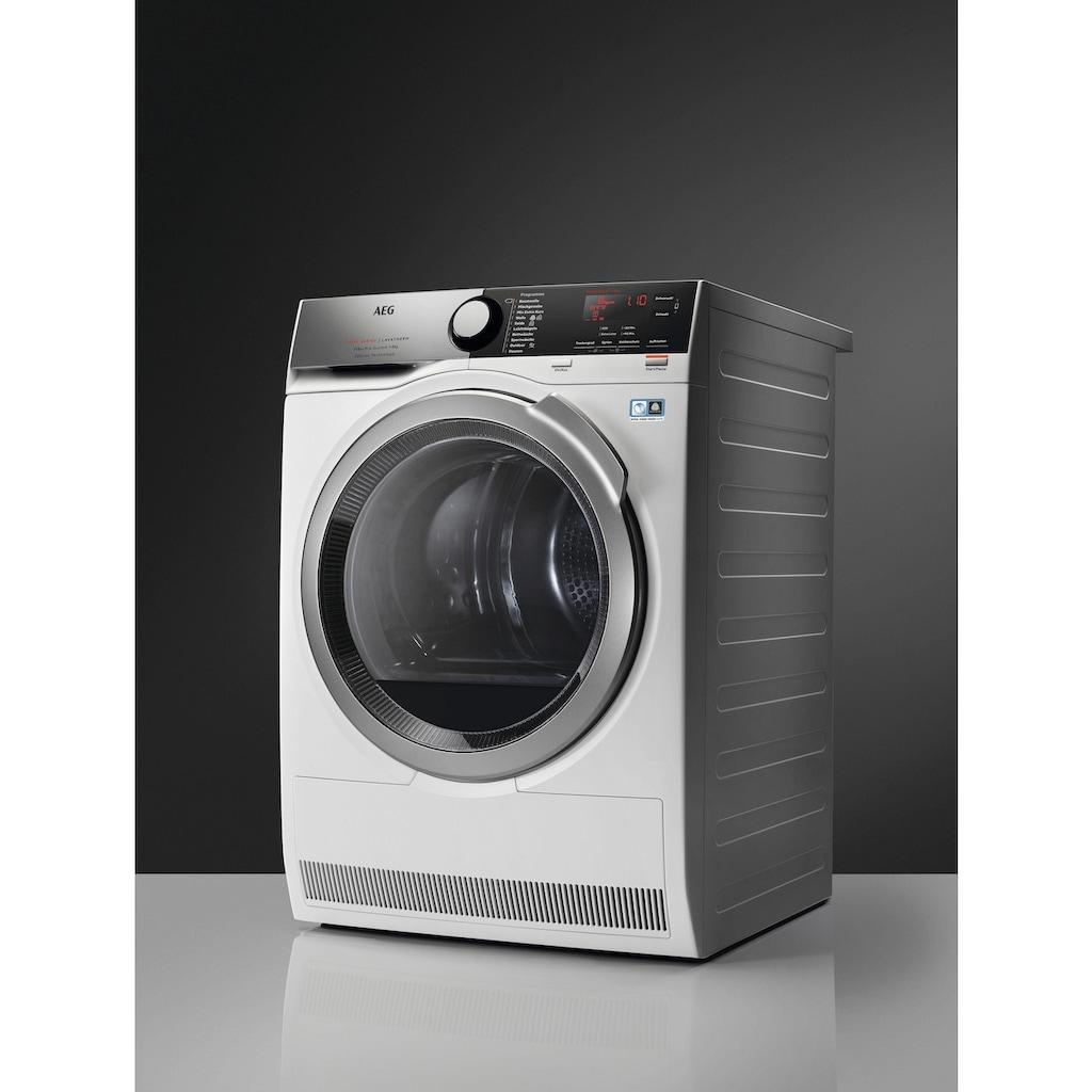 AEG Wärmepumpentrockner »T9DE78685«, mit 3D Scan - Technologie