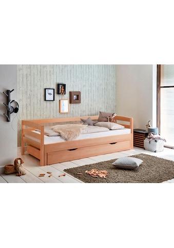 Relita Funktionsbett, mit Lattenrost, Bettschublade und Auszug auf 180x200 cm kaufen