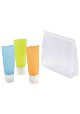 Hama Kosmetikbeutel Zipbeutel Flugzeugbeutel für Handgepäck kaufen