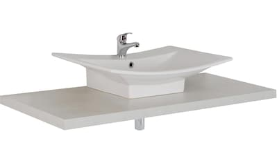 MARLIN Waschtisch »Laos 3110«, Breite 120 cm, Farbe Waschtischplatte & Waschbeckenart... kaufen