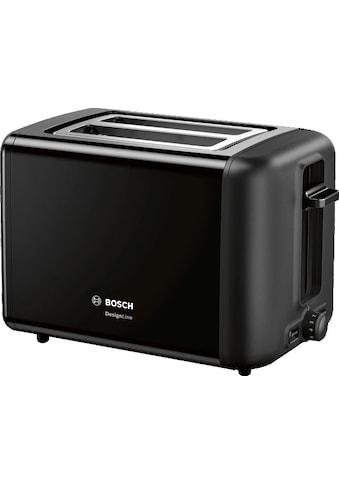 BOSCH Toaster »TAT3P423DE DesignLine«, 2 kurze Schlitze, 820 W kaufen
