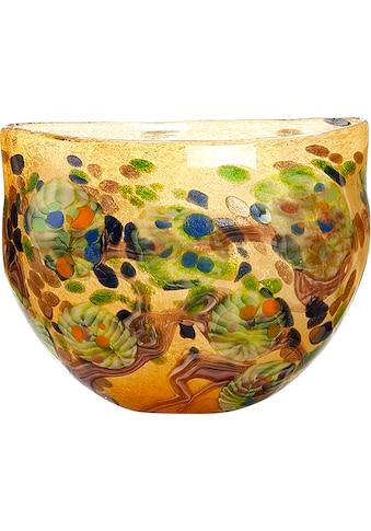 GILDE GLAS art Dekoschale »Primavera«, H 24,5 x B 30 x T 15 cm kaufen