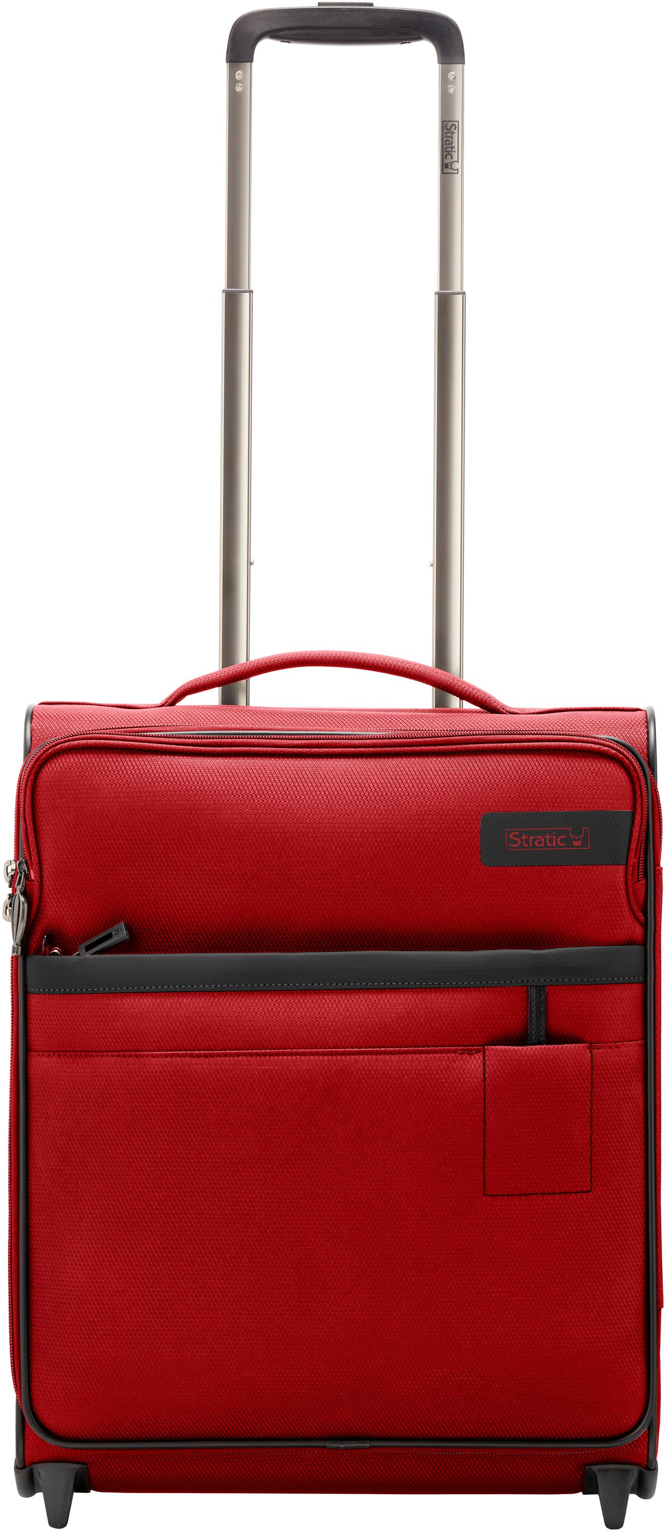 Stratic Weichgepäck-Trolley Stratic Light S, red, 2 Rollen | Taschen > Koffer & Trolleys > Trolleys | Rot | Stratic